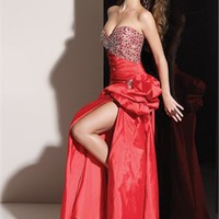 Column Beaded Sweetheart Neckline Prom Dresses PDM141 - Wholesale cheap discount price 2012 style online for sale.