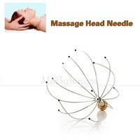 Manual Multifunctional Blood Circulation Promote Head Neck Scalp Stress Release Relax Personal Massager(HB107004)