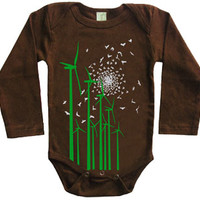 Tomat Kids Organic Onesuit Windmills - Pop! Gift Boutique