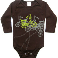 Tomat Kids Organic Onesuit Bicycles - Pop! Gift Boutique