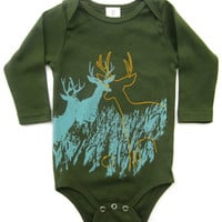Tomat Kids Organic Onesuit Deer - Pop! Gift Boutique