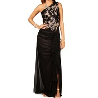 Jacelyn- Black Long Prom Dress