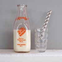 Vintage Dairy Milk Bottle Large