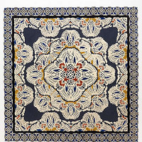 Tufted Regalia Rug by Anthropologie Navy