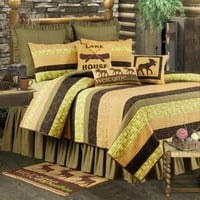 Cabin Nights Deluxe Bedding