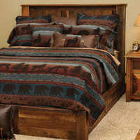 Deer Meadow Deluxe Bedding Set : Log Cabin Styles