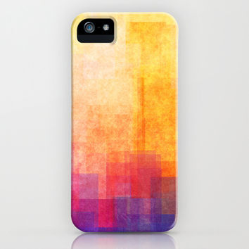 Magic Sunset iPhone & iPod Case by SensualPatterns