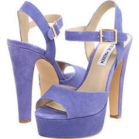 Steve Madden Dynemite Lavender Suede - 6pm.com