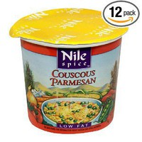 Nile Spice Couscous Parmesan, Low Fat, 1.9-Ounce Cups (Pack of 12)