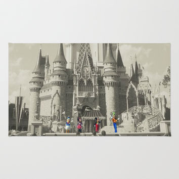 Walt Disney World Area & Throw Rug by Abigail Ann | Society6