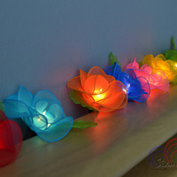 Colorful Fairy Flowers Lighting String Lights for home decorate 20 Lights/Set