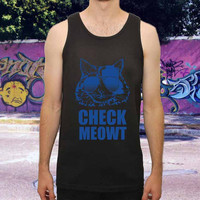 Check Meowt Cat Sunglasses for men,women,tank top