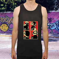 daft punk for men,women,tank top