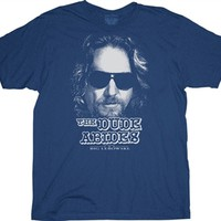 Big Lebowski The Dude Abides t-shirt tee shirt