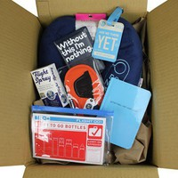 Pack Your Kit And Go - Study Abroad Kit  - Grad Gifts - Gifts + Kits