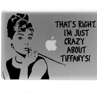Breakfast at tiffany&#x27;s vinyl decal 