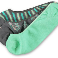 Empyre 3 Pack Zoey No Show Socks