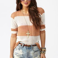 Shoreline Knit - Nude in What's New at Nasty Gal