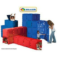 Costco - Brik-A-Blok - 46-panel Toy System Modular