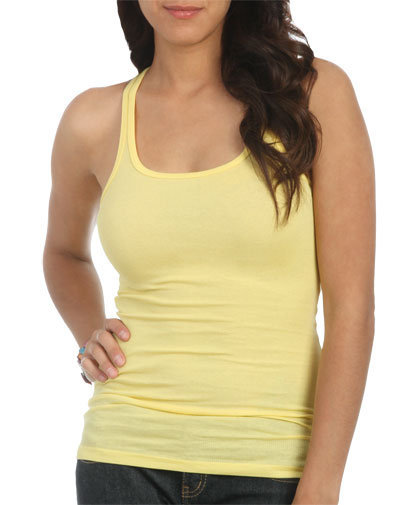 Racerback Rib Tank | Shop Tops at Wet Seal
