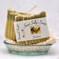 Gardenia Organic Soap Vegan Hot Process by SweetSallysSoaps