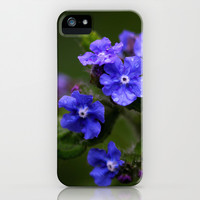 Omphalodes verna - JUSTART © iPhone & iPod Case by JUSTART  * Syl *