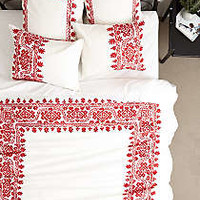 Aari Embroidered Bedding