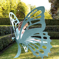 CRICKET FORGE - Butterfly Bench - Horchow