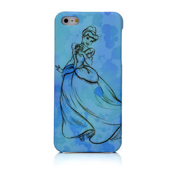 iPhone 5 Sketch Clip Case - Cinderella