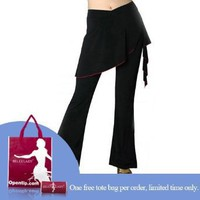 BellyLady Black Tribal Belly Dance Comfortable Pants