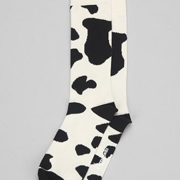 Happy Socks Cow Sock - Urban Outfitters