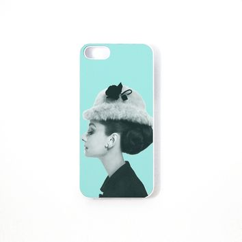 Tiffany Blue Audrey iPhone Case 5/5S 5C 4S/4