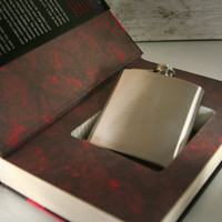 Hollow Book Safe & Secret Flask Hannibal by HollowBookCo on Etsy