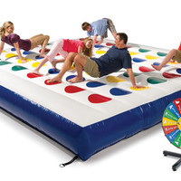 Massive Inflatable Twister Game