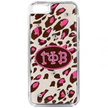 Phone cover-GAMMA PHI BETA - Pink Leopard - Debbie Brooks Product