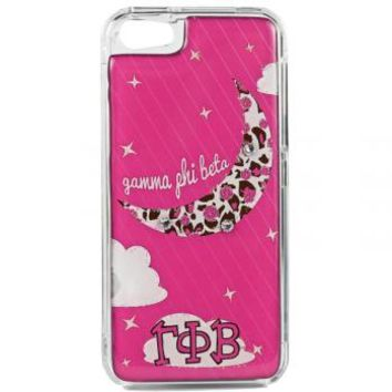 Phone cover - Gamma Phi Beta - Pink Rose moon - Debbie Brooks Product