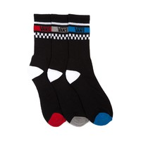 Mens Vans Crew Socks 3 Pack