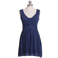 across the deep blue sea crossover dress by Tulle - $47.99 : ShopRuche.com, Vintage Inspired Clothing, Affordable Clothes, Eco friendly Fashion