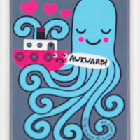 Awkward Octopus Magnet | PLASTICLAND