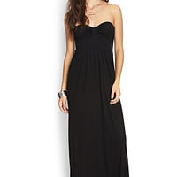 Strapless Maxi Dress