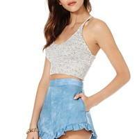 Nasty Gal Head in the Clouds Shorts