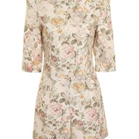 Cream Floral Vintage Playsuit As seen on Sam Faiers - from Lavish Alice UK