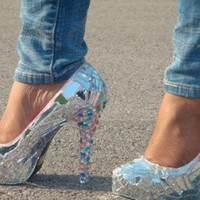 Pumps / High Heels - Mirror Mirror On the Shoe | UsTrendy