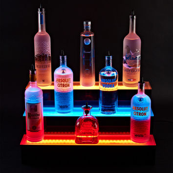 Illuminate 3 Tier LED Bar Shelf
