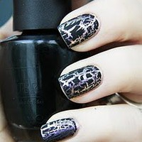 OPI Black Shatter Nail Polish