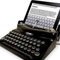 Retro Tablet Accessories - The Typescreen Turns Your iPad into an Old-Timey Typewriter