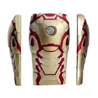 Gold Iron Man Armour - iPhone Case