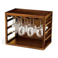 Cube-Stack Wine Glass Rack