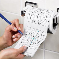 Amazon.com: Sudoku Toilet Roll: Toys &amp; Games