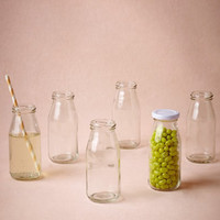 Milk Bottle Jars (6)
